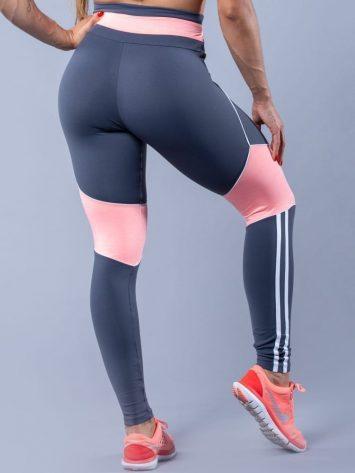 Oxyfit Activewear Leggings Gracious - Grey/Pink/White