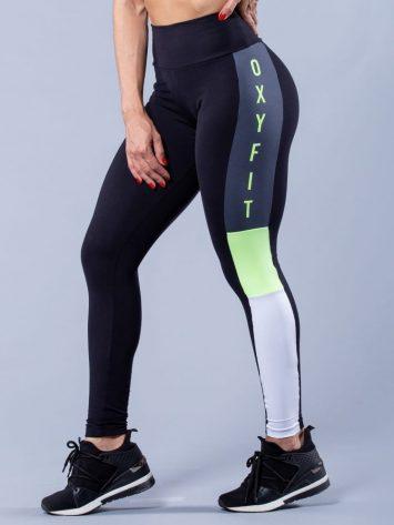Oxyfit Activewear Leggings Reason – Black/Grey/White/Neon Lime