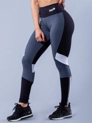 Oxyfit Activewear Leggings Springy – Black/Grey/White