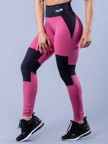 Oxyfit Activewear Leggings Control – Rosa/Black