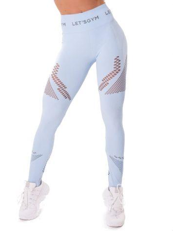Let's Gym Fitness Seamless Essence Leggings – Blue