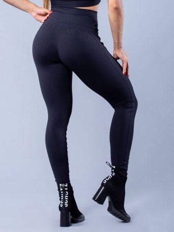 Oxyfit Leggings Empina Bumbum – Black