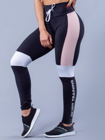 Oxyfit Activewear Leggings Glam – Black/Nude/White