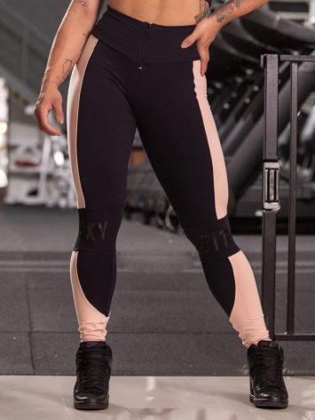 Oxyfit Activewear Leggings Montaria Shield – Black/Nude