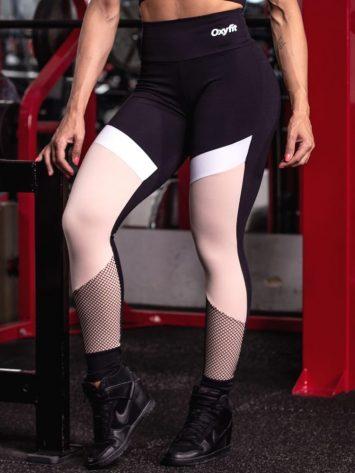 Oxyfit Leggings Single – Black-Nude-White