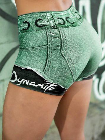 DYNAMITE BRAZIL Placebo Larimar Shorts - Emerald