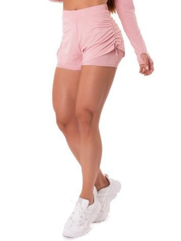 Let's Gym Fitness Savage Feels Shorts – Rose