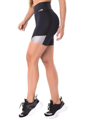 Let's Gym Fitness Savage Shorts – Black
