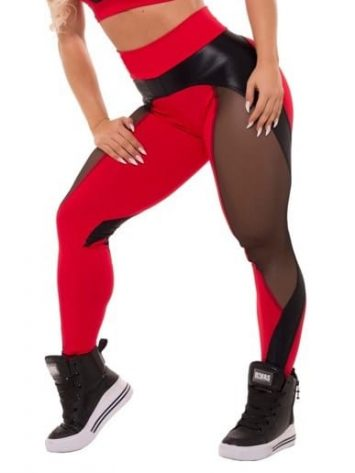 Trincks Fitness Activewear Fabulous Legging – Red