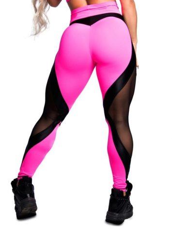 Trincks Fitness Activewear Leggings Sweet Pink – Pink/Black
