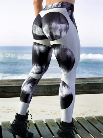 DYNAMITE Brazil Leggings Apple Booty – Marble Silver