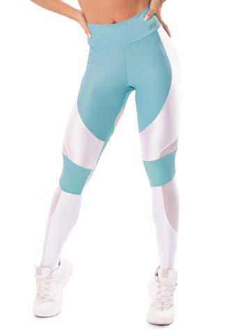 Let's Gym Fitness Lover Leggings – Blue