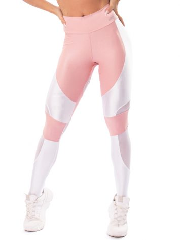Let's Gym Fitness Lover Leggings – Rose