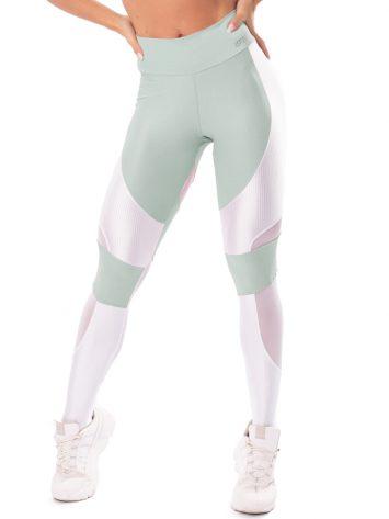 Let's Gym Fitness Lover Leggings – Green