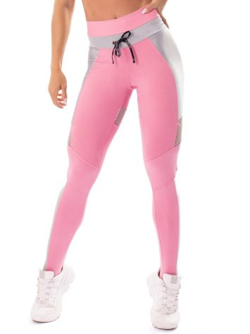 Let's Gym Fitness Fusion Leggings – Pink