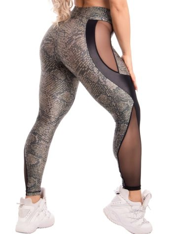 Trincks Fitness Activewear Style Digital Legging – Green